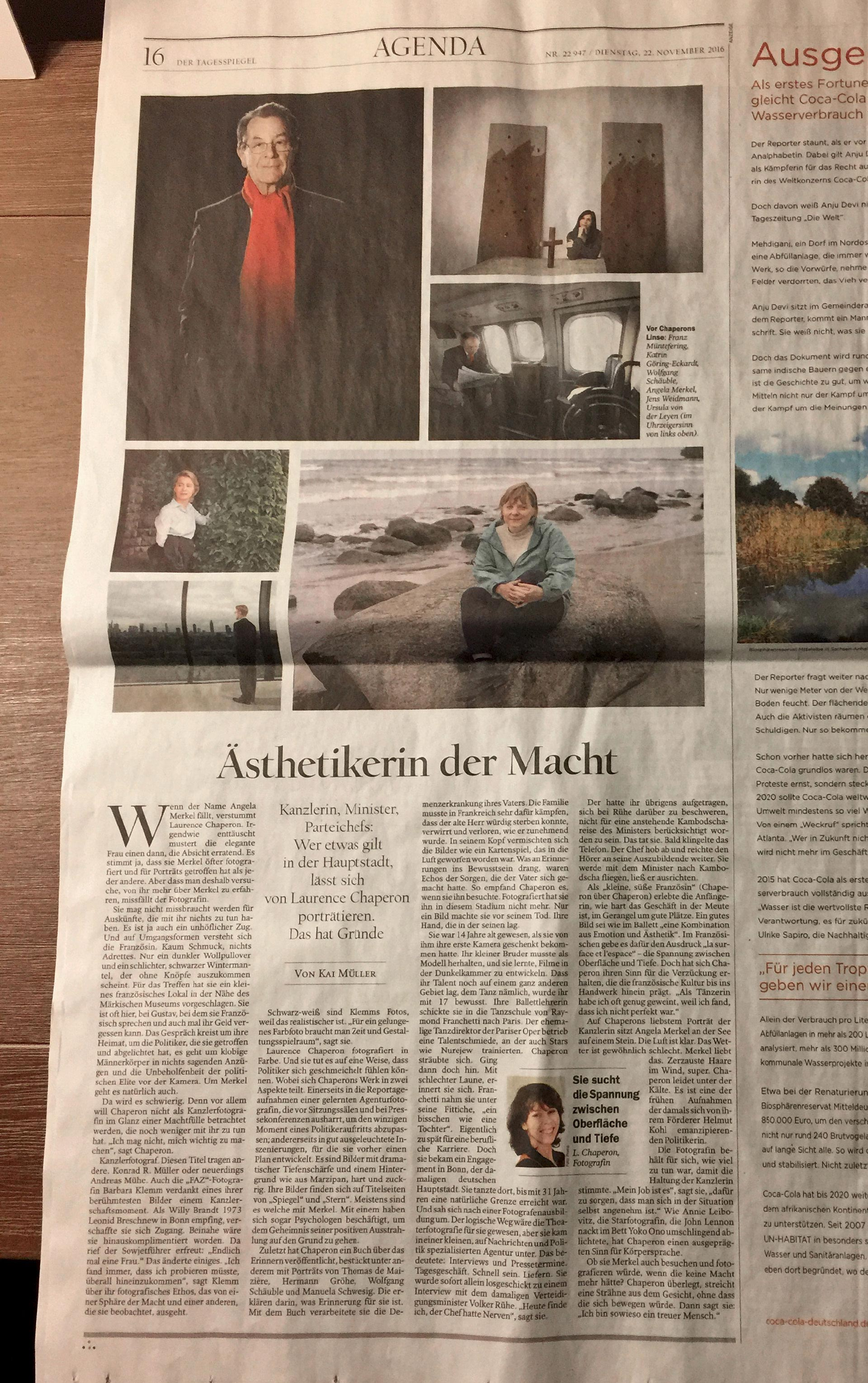 laurence chaperon tagesspiegel